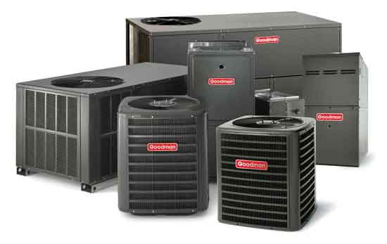 picture of goodman ac units replacement heating from cair hvac louisville