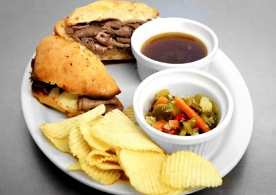 Cliftons Pizza in Louisville KY French Dip